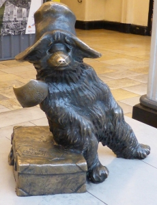 Bear at Paddington Station