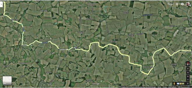 Google Map of Fields