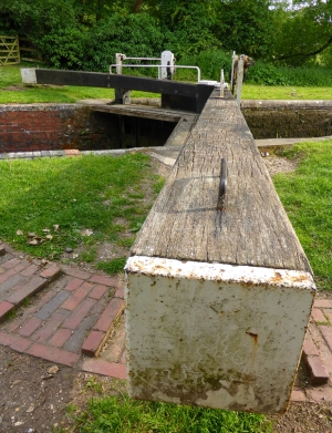 Canal Lock on Kennet and Avon Canal